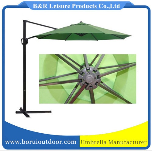 10ft outdoor hanging parasol, heavy duty canopy