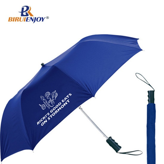 2 folding umbrella automatic for promotion