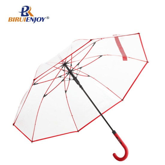 dome shaped lady umbrella clear PVC