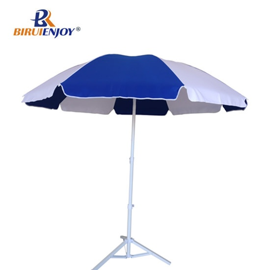 Arc 220cm beach parasol with tilt for wind