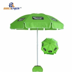 Arc 220cm strong parasol for promotion blue