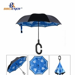Best inverted umbrella full print