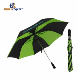 2 folding golf umbrella wood handle auto 28 inch