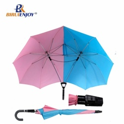 Romantic couple umbrella stick umbrella
